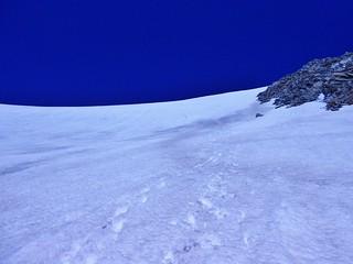 Descent on Mt. Hope
