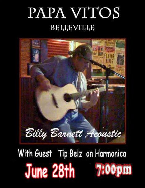 Billy Barnett 6-28-14
