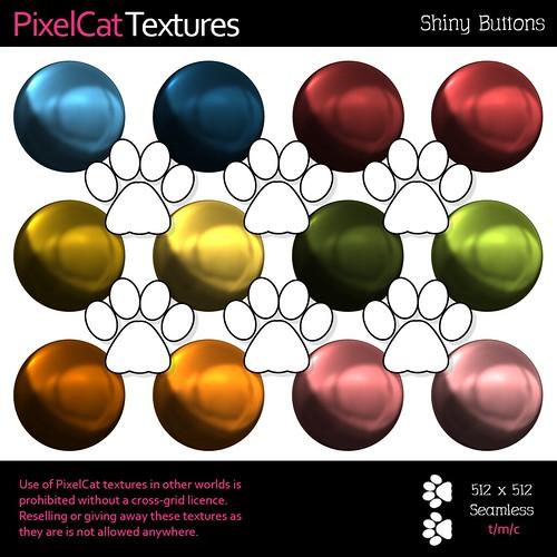 PixelCat Textures - Shiny Buttons