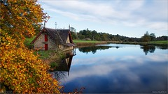 The Boathouse in Autumn