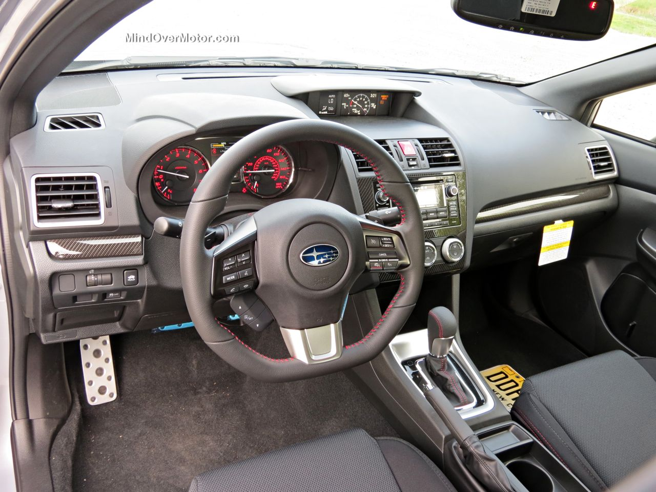 2015 subaru wrx cvt automatic reviewed 9 5 10 mind over motor. Black Bedroom Furniture Sets. Home Design Ideas