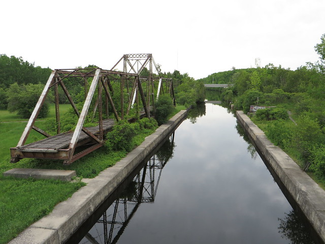Abandoned CN Lakefield Sub swingbridge