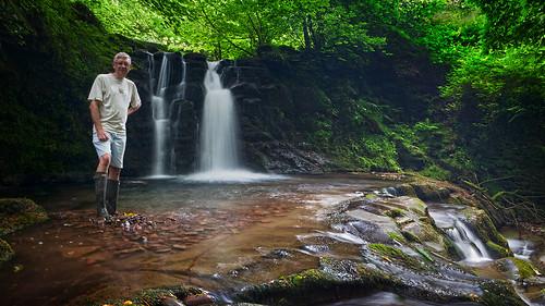 wales river waterfall brecon mikestokes nantcwmllwch