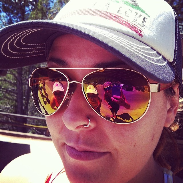 @imtrigirl @vickic321 rolling out in the #rockymountainnationalpark #triouradventure
