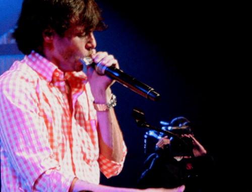 Chris Jansen Working The Harmonica