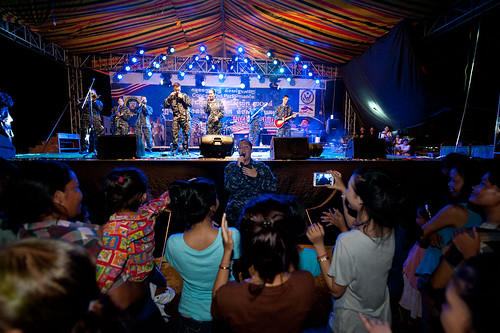 U.S. Pacific Fleet Band Performs in Cambodia