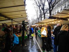 Marché biologique de Batignolles