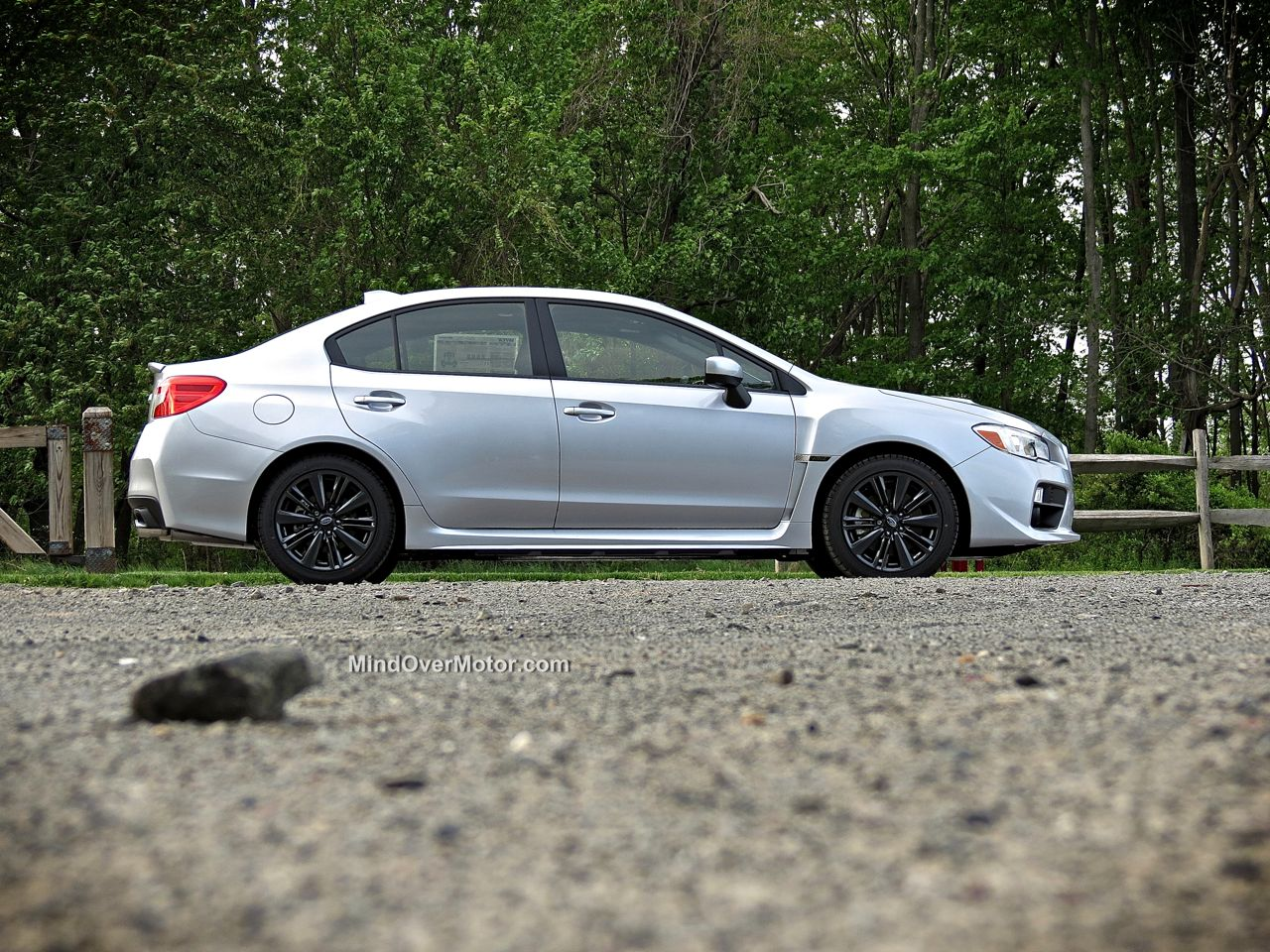 2015 Subaru WRX Side View