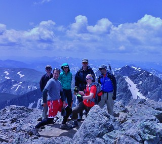 CMC Group Summit Mt of the Holy Cross