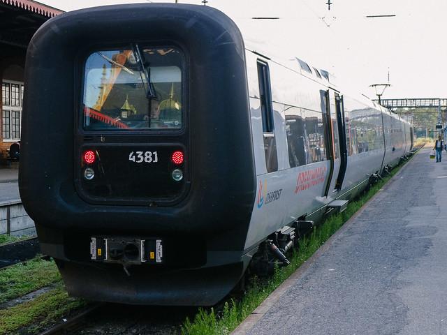 Tren del Oresund en Helsingor