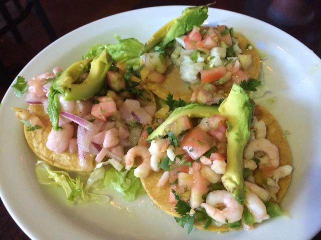Seafood tostadas - Tacos Guaymas