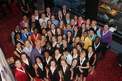 2014 NHSMTA Nominees with Director Van Kaplan and Choreographer Kiesha Lalama