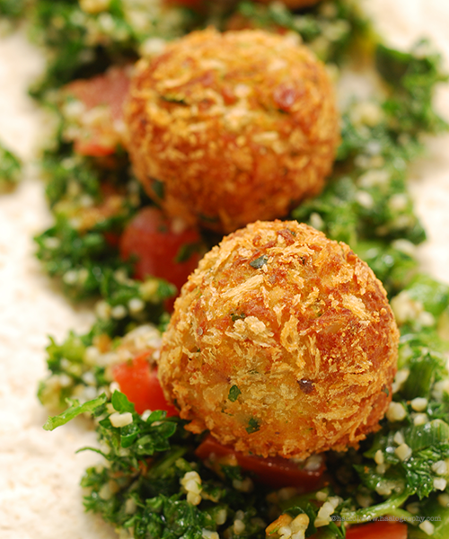 Zucchini Falafel© by Haalo