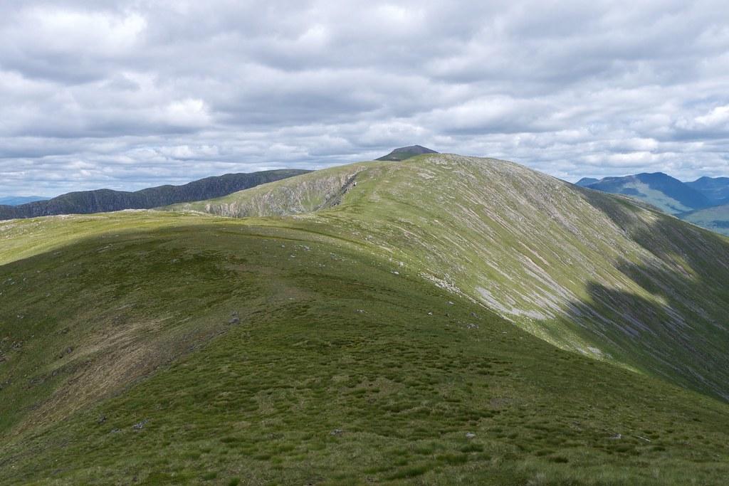 The long ridge to Stob Ghabhar