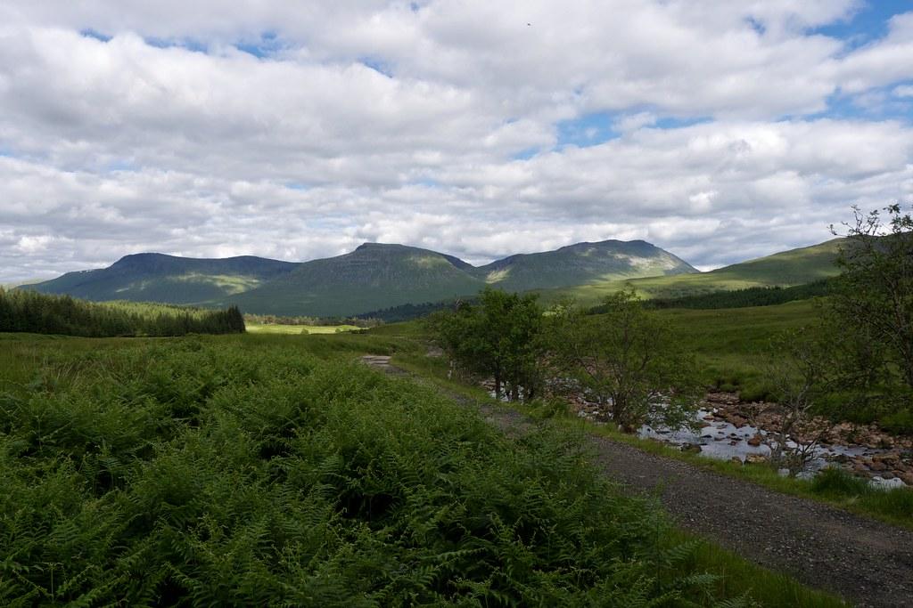 Bridge of Orchy Hills
