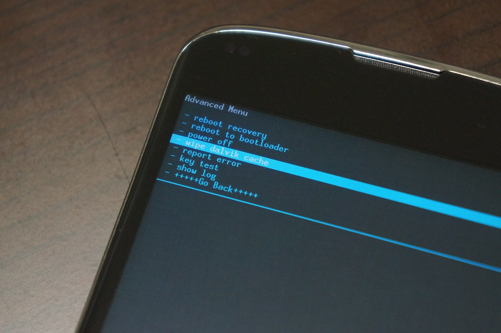 Nexus 4にAndroid L Developer Previewをインストールーランタイムのキャッシュを削除