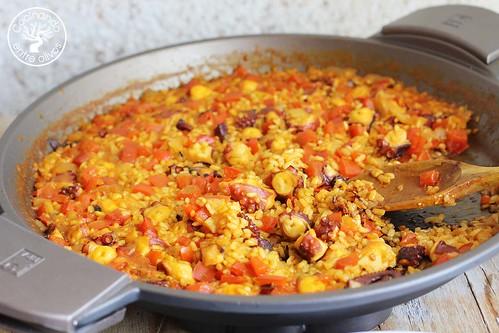 Arroz con pulpo www.cocinandoentreolivos.com (4)