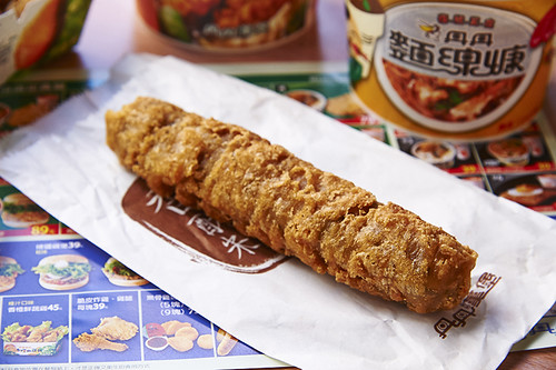 高雄-丹丹漢堡-西子灣店-麵線羹-炸雞 (7)