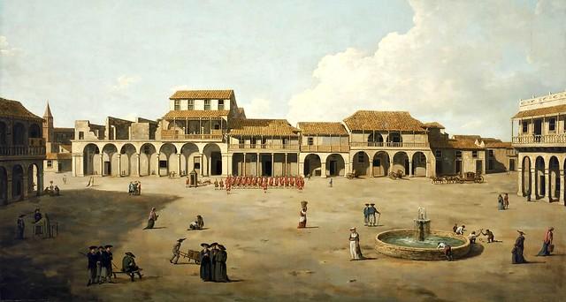 Dominic Serres the Elder - The Piazza at Havana (c.1762)