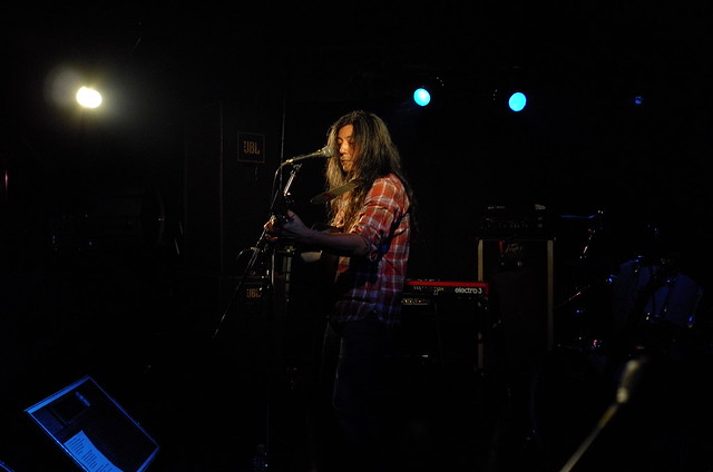 O.E. Gallagher (solo/duo) live at Adm, Tokyo, 03 Aug 2014. 003