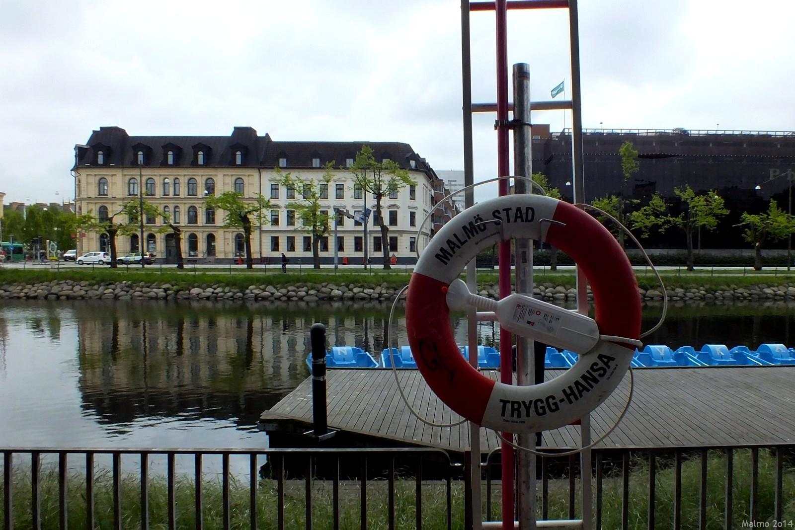 Södra Förstadskanalen, Malmö, Sverige