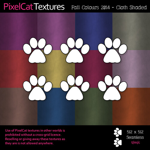 PixelCat Textures - Fall Colours 2014 - Cloth Shaded