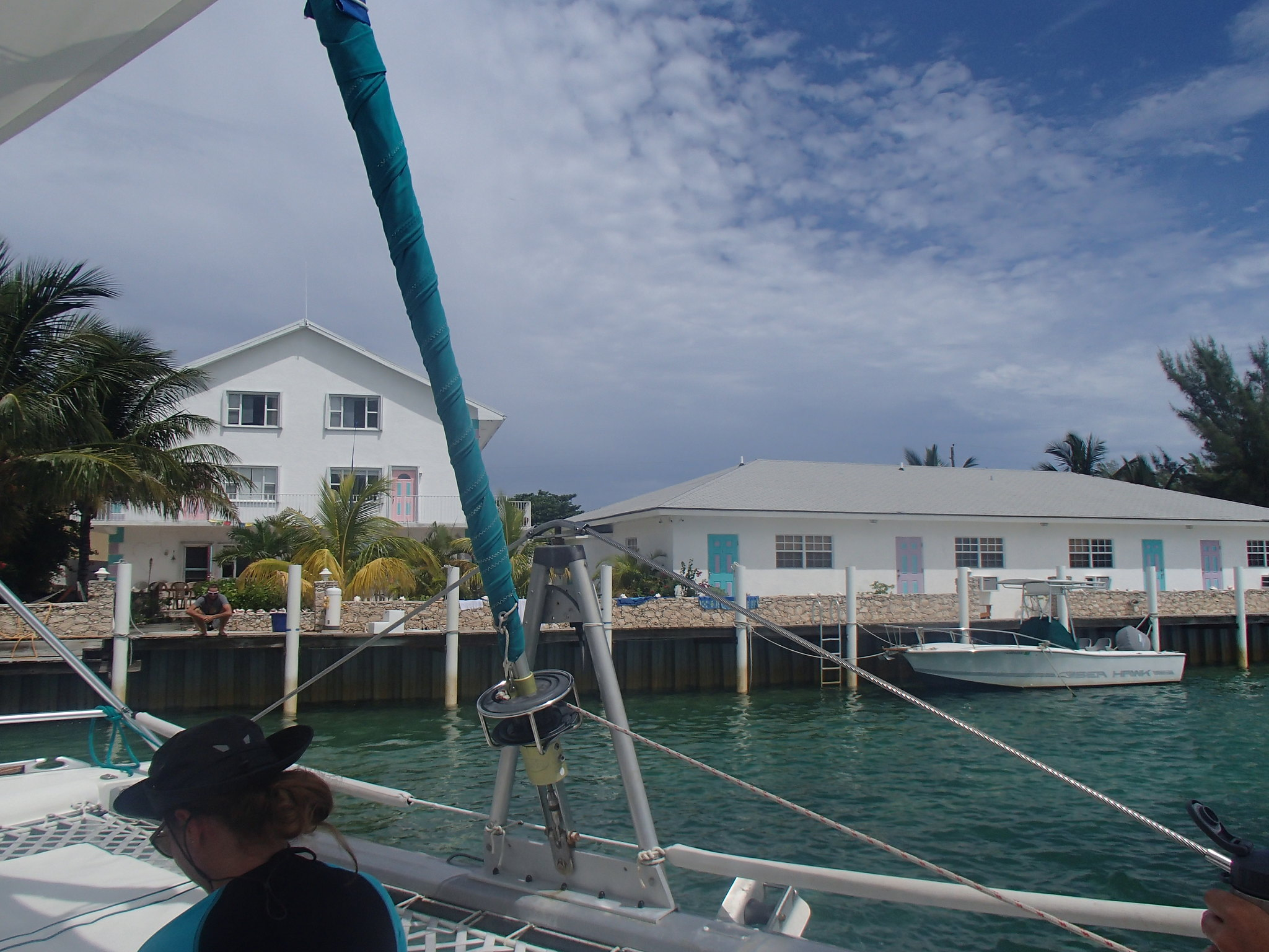 The WildQuest base as seen from the boat