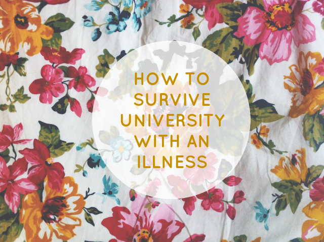 vivatramp how to survive university with an illness lifestyle book blog university advice uk