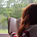 raining sunday & good book <3 by beeamoreira