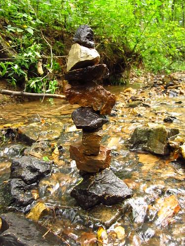 Stone Balancing 8.16.14