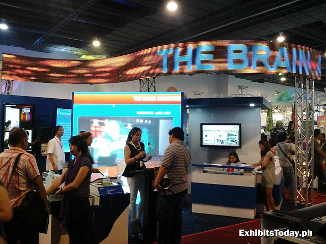 The Brain Company Exhibit Booth