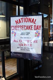 Celebrate National Cheesecake Day