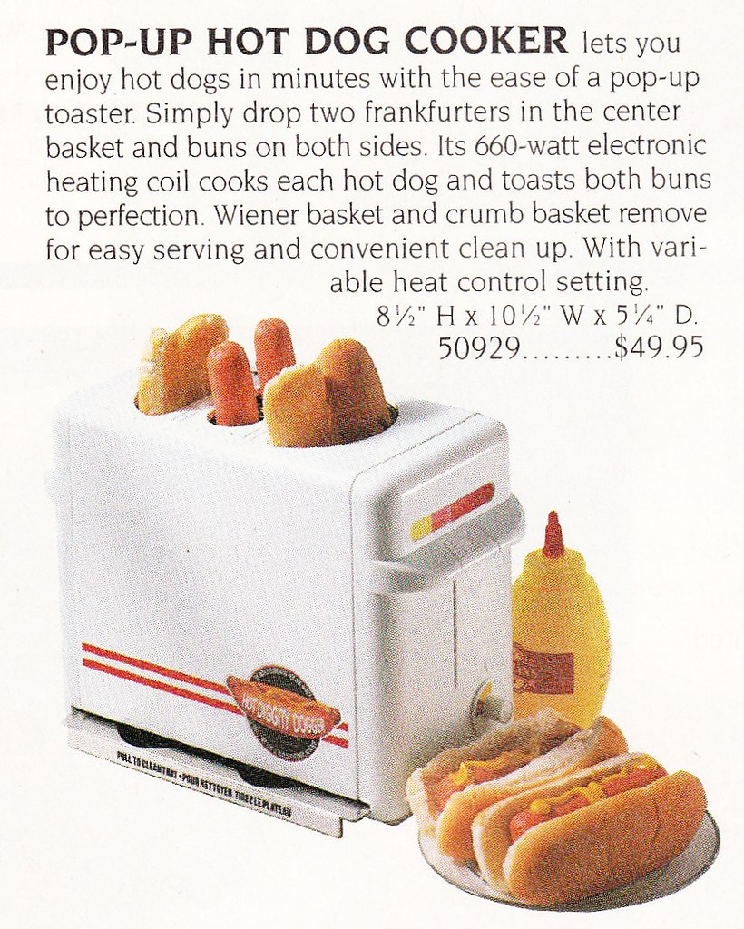 Pop Up Hot Dog cooker