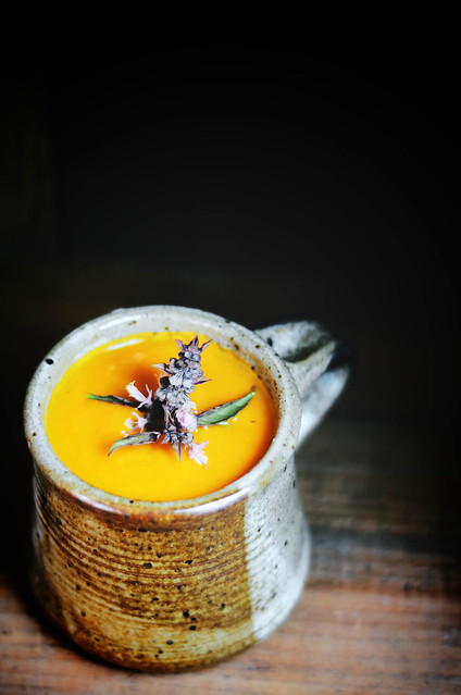 carrot and rhubarb soup #food #foodphotography #foodstyling #carrot #rhubarb #soup