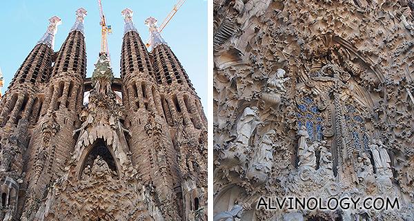 The majestic Sagrada Familia