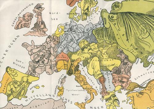 Illustrazione pacifista dei primi del Novecento