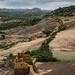 Savandurga Fort Wall by Jnarin