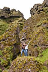 Marion & Christine @Rauðfeldsgjá