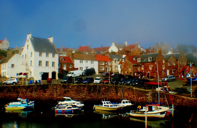 Crail Harbour, Fife Coast, Scotland