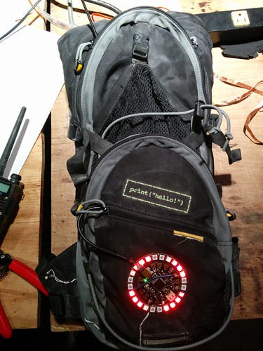 Backpack LED ring