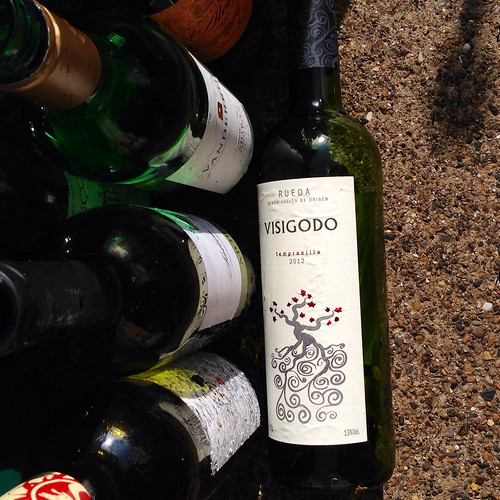 Visigodo Tempranillo 2012. Spanish wine. Red wine. Rueda region. Lidl.