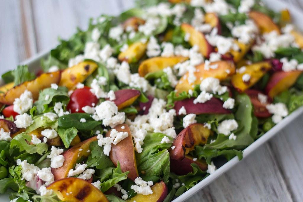 Salat med grillede nektariner (1)