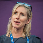 Lauren Child at the Edinburgh International Book Festival |