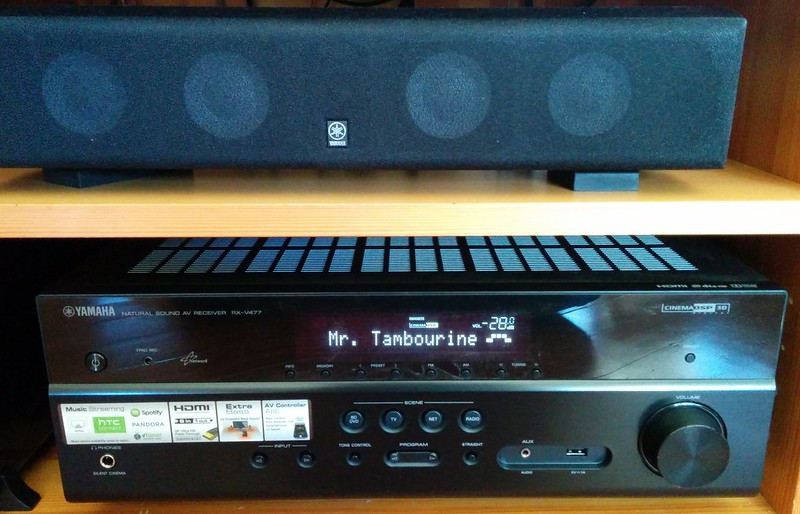 The new hifi: Yamaha YHT-4910