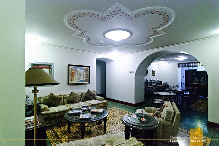 Lounge Area at Hotel Felicidad in Vigan City