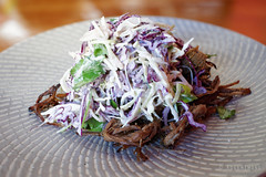 20140811-31-Grilled brisket with slaw at Westend P…