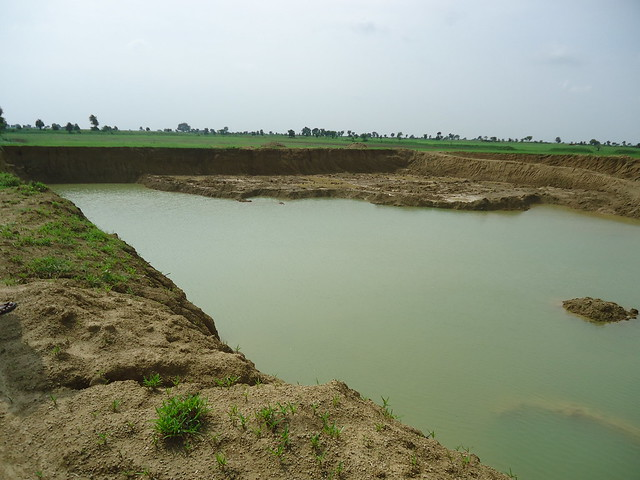 Visit for Apna Talab Abhiyan Work, 14 august 2014, Mahoba