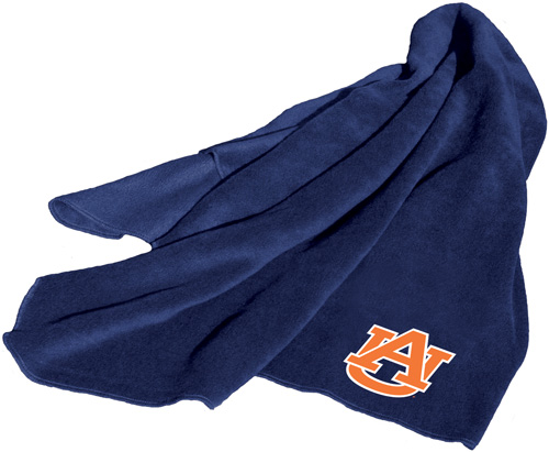 Auburn Tigers NCAA Fleece Throw