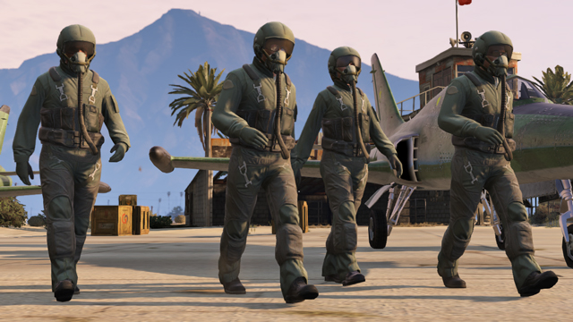 GTA Online San Andreas Flight School