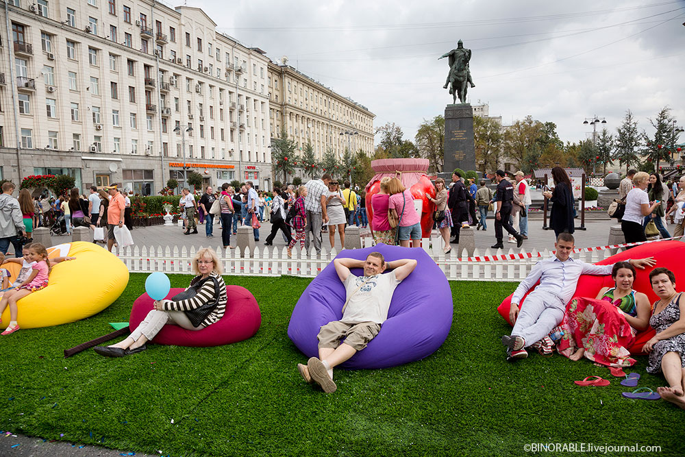 Moscow jam festival in center of city ©binorable.livejournal.com
